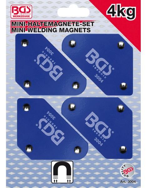 Mini-Magnethalter-Satz | 45° - 90° - 135° | 4-tlg.