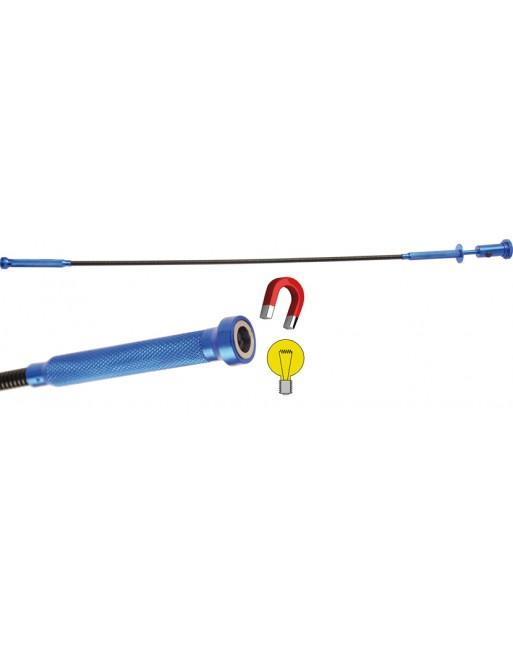 Krallengreifer-Magnetheber-Leuchte-Kombiwerkzeug | 615 mm