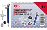 Reparatursatz für Reifenventile   14-tlg.