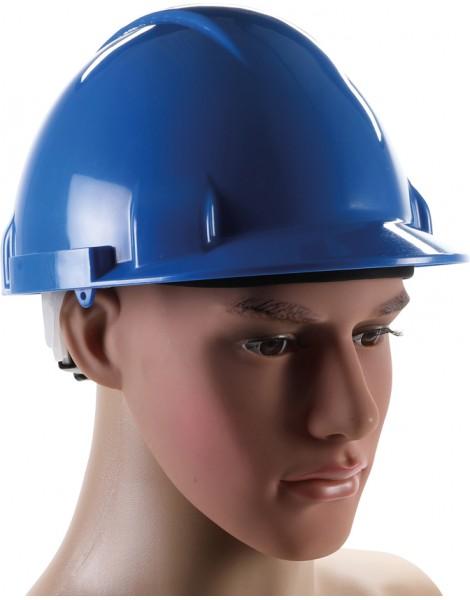 Arbeits-Schutzhelm   blau
