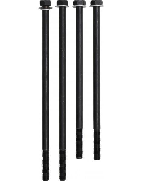Zylinderschrauben Sortiment M4 M5 M6 M8 M10 Innensechskant Schrauben 106-tlg.