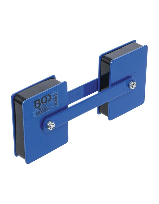 Kraft-Doppelmagnethalter | Winkel einstellbar | 22,7 kg