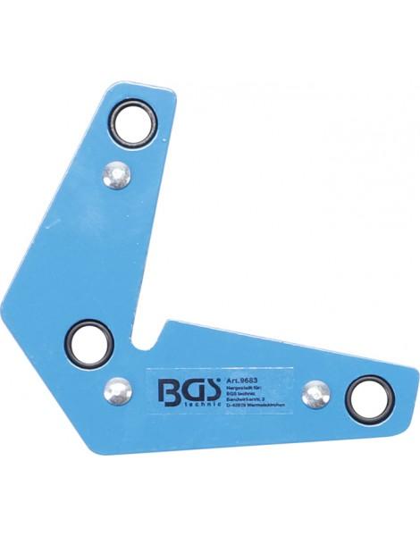 Kraft-Magnethalter | L-Form