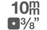 """Biteinsätze 10 mm (3/8)"""""""