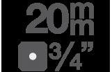 """Biteinsätze 20 mm (3/4)"""""""