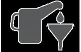 Behälter / Trichter / Pumpen