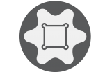 E-Profil (für Torx)